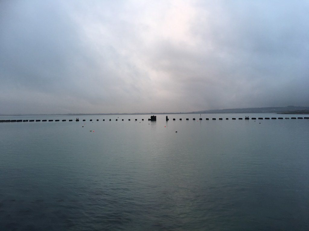 The old rail bridge, Hayling islands Portsmouth to Hayling Island walk