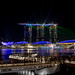 Marina Bay at night, Singapore. by Richard Mark Smith