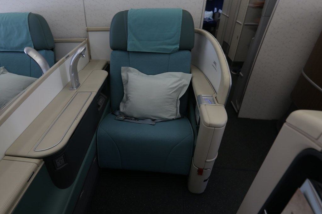 Korean Air A380 First Class 14