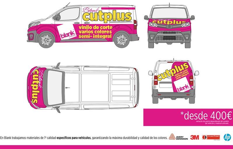 Rotulación parcial de vehículos