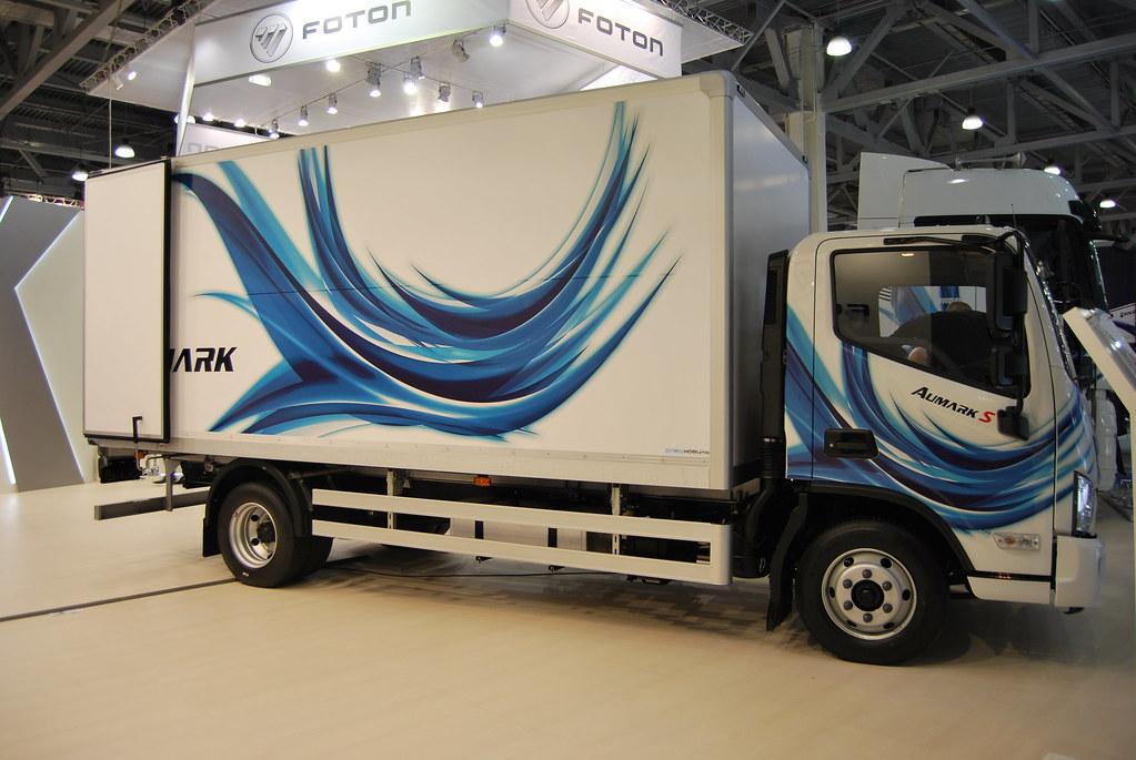 Foton Aumark M4 с изотермическим фургоном