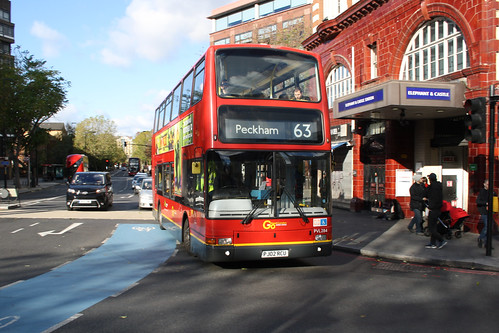 Go-Ahead London PVL284 PJ02RCU