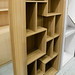 Walnut bookcase E150