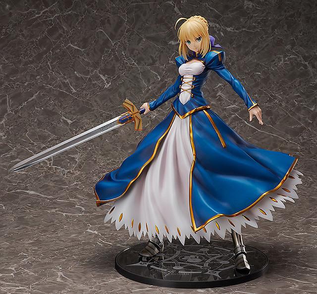 美麗與威嚴共存的英勇之姿《Fate/Grand Order》Saber/阿爾托莉亞・潘德拉岡(セイバー/アルトリア・ペンドラゴン) 1/4比例模型