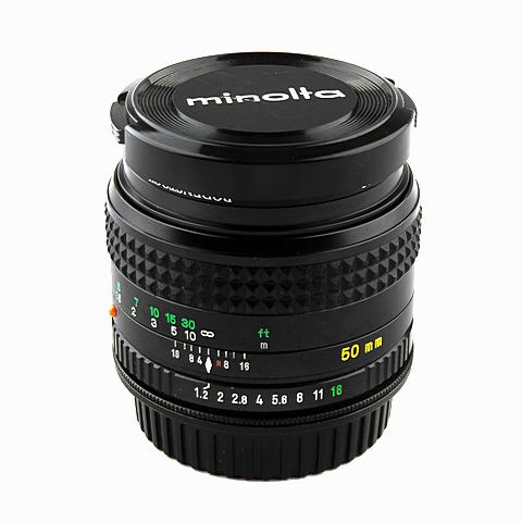 Minolta MD Rokkor 50mm f1.2