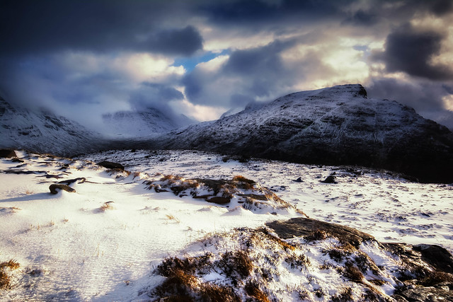 Liathach and Ben Eighe