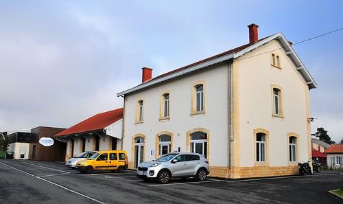Gare de Captieux - 01