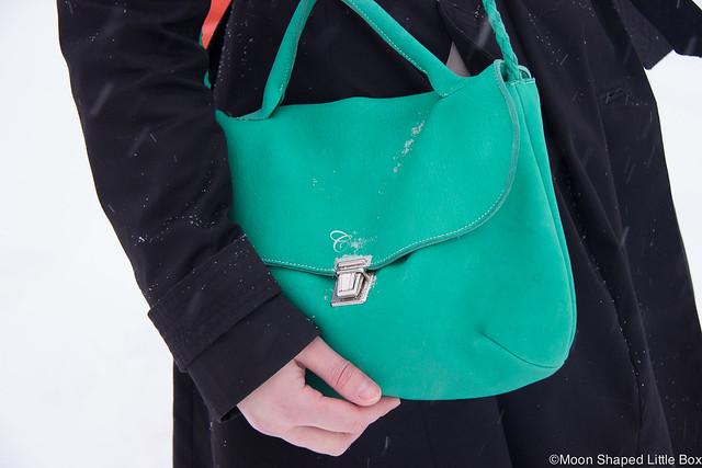 Suomalainen nahkalaukku, Cobblerinan laukku, olkalaukku Suomesta