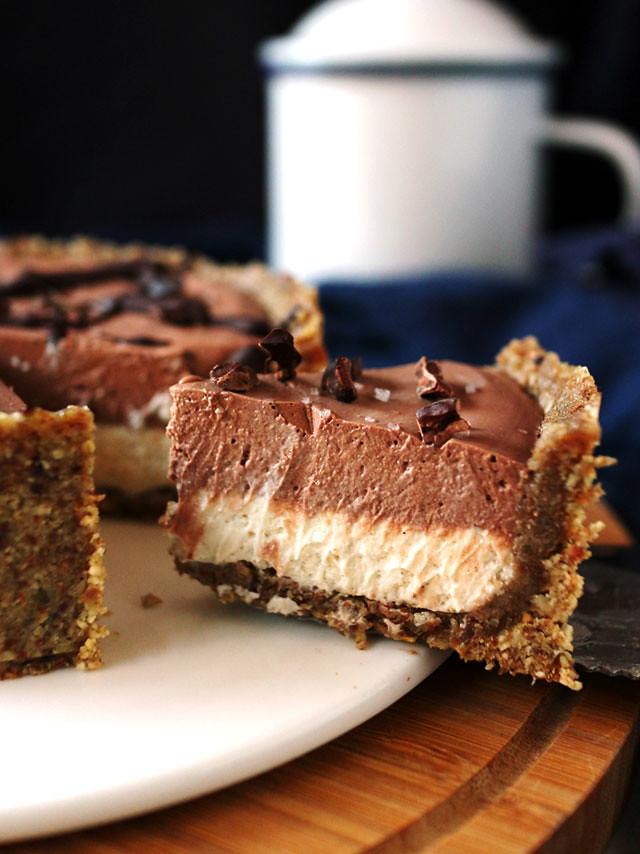 全素雙層巧克力香草乳酪蛋糕 vegan-double-chocolate-vanilla-cheesecake (4)