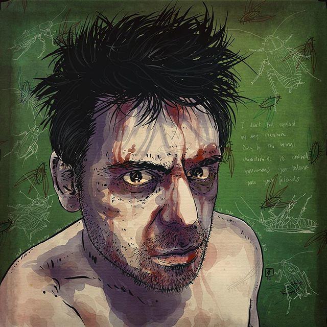 """Crushed"" a self-portrait @autodesksketchbook @tayasuiapps @pixlr on #iPadpro . . . #ipadart #illustration #ipadillustration #procreateapp #autodesksketchbookapp #tayasuisketches #tayasuiapps #mobileart #digitalillustration #art #artgram #drawings #art:ar"