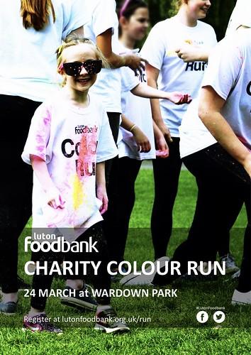 Charity Colour Run Poster 2018