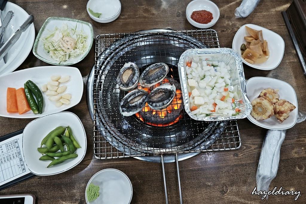 Busan-Jalgachi Fish Market-Live Abalone