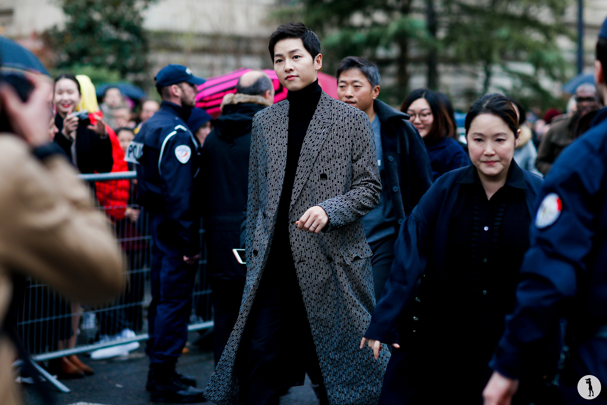 Song Joong Ki - Paris Fashion Week Menswear FW18-19 (2)