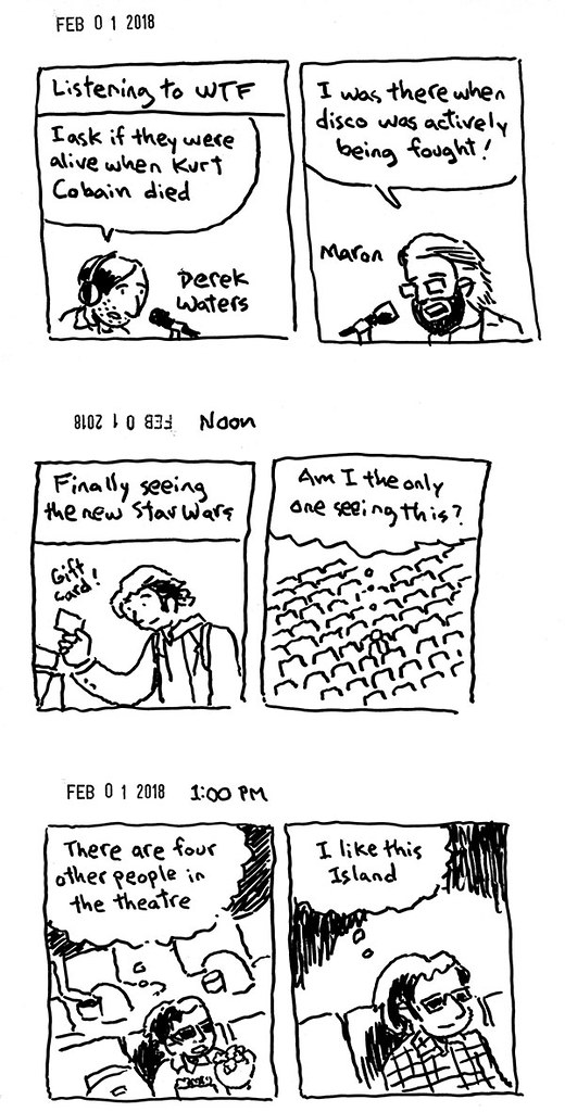 Hourly Comic Day 2018 02