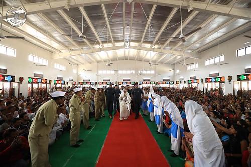 Arrival of Satguru Mata Ji in the Satsang Hall