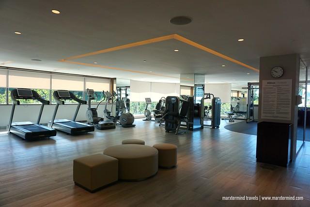 Hilton Kota Kinabalu Fitness Room