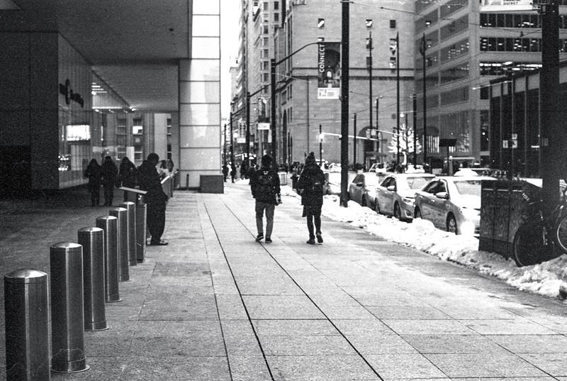 Winter on King St