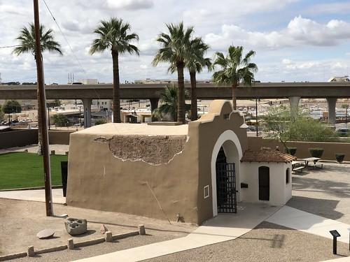 Yuma the prison entrance
