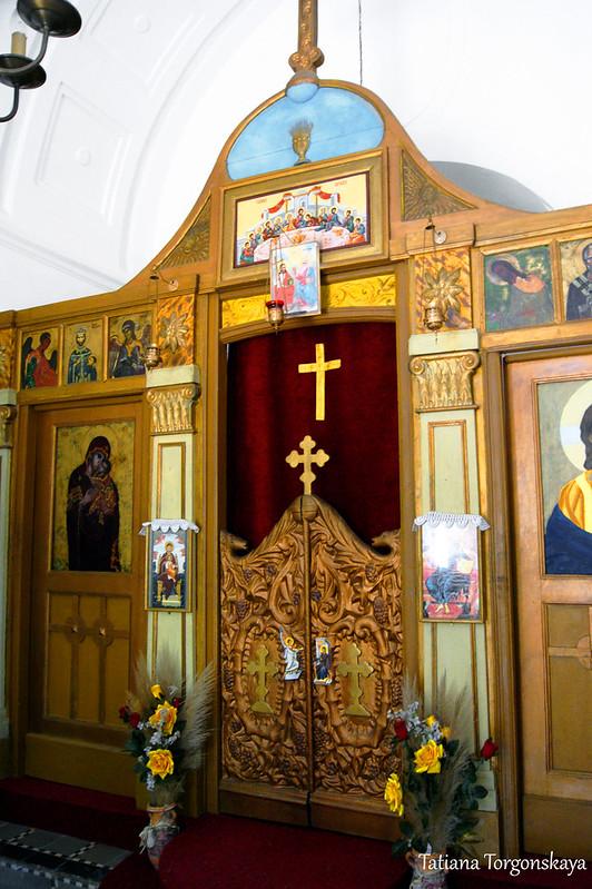Иконостас церкви Св. Иоанна