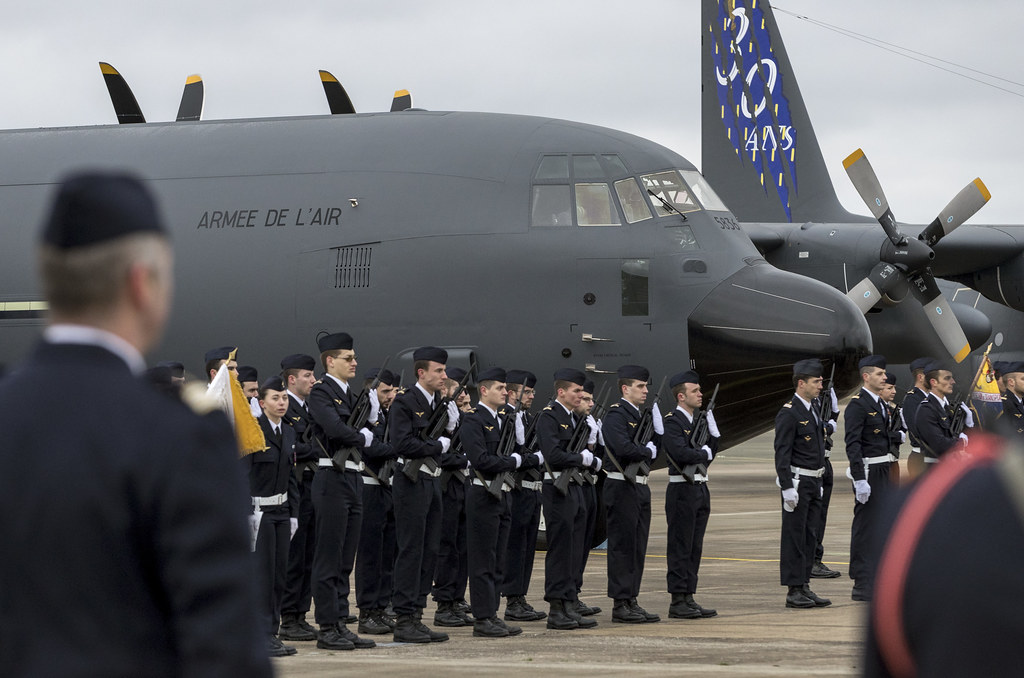 France Welcomes Its First C-130J