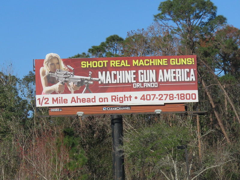 Peeing billboard florida