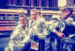 Zielbereich Boston-Marathon