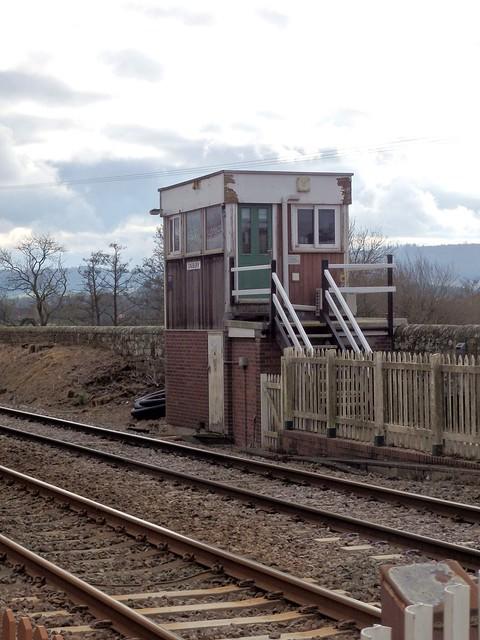 Onibury signal box