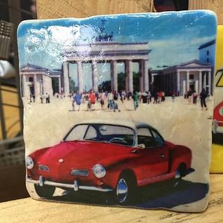 #vintage #tile #karmanngia #henribanks #marble