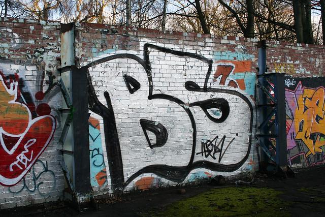 Shiregreen/Ecclesfield graffiti-2