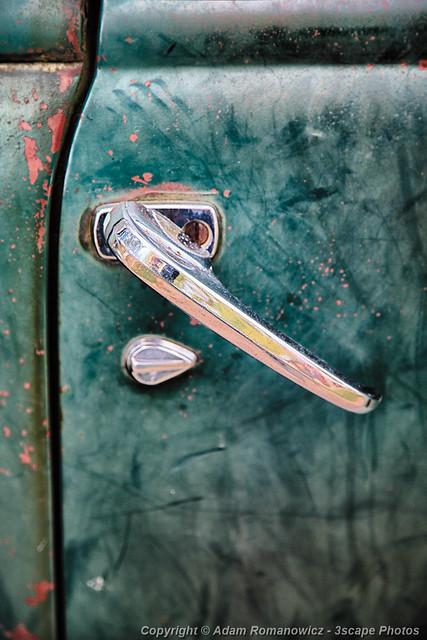 1950 Classic Chevy Pickup Door Handle