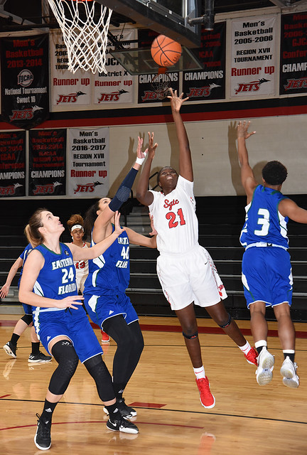 Lady Jets lose to Eastern Florida in Holiday Classic