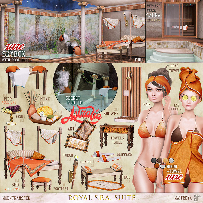 Astralia - Royal SPA suite