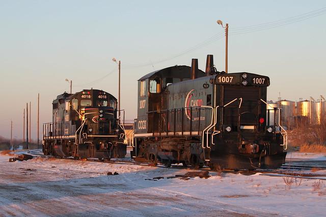 CN Rail Edmonton, Camrose, Canon EOS REBEL T1I, Canon EF 70-200mm f/4L IS