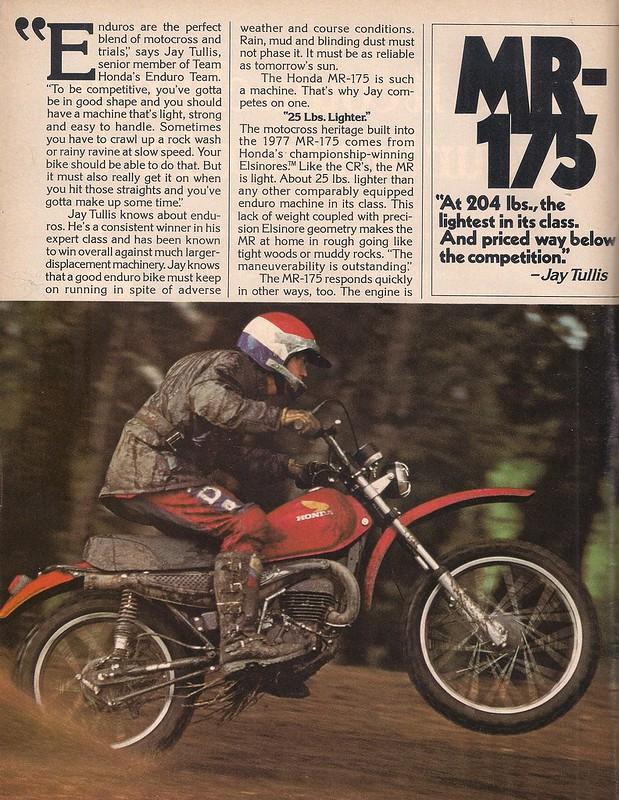 Honda MR175 Jay Tullis 1