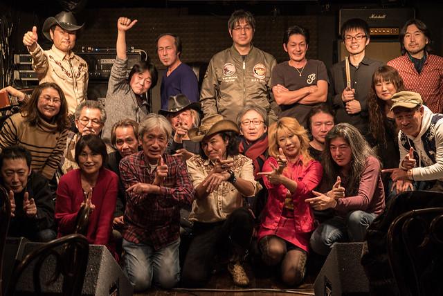 鈴木Johnny隆バンド with O.E. Gallagher session at Crawdaddy Club, Tokyo, 20 Jan 2018 C-00594