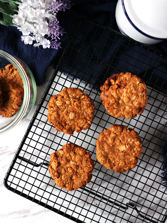 全素椰片花生燕麥餅乾 vegan-coconut-peanut-butter-oatmeal-cookies (2)