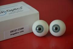 Angelina Jolie glass eyes