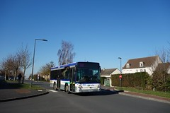 Heuliez Bus GX 127 n°96  -  Caen, TWISTO - Photo of Saint-Aignan-de-Cramesnil
