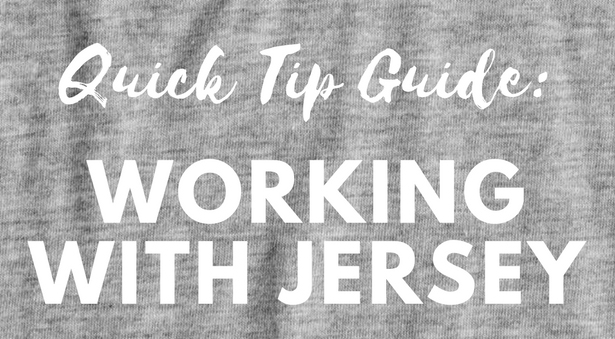 Working with Jersey Fabrics
