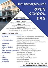 Openschooldag folder