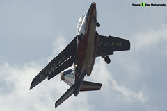 E166 4 F-UHRW - E166 - Patrouille de France - French Air Force - Dassault-Dornier Alpha Jet E - RIAT 2013 Fairford - Steven Gray - IMG_9924