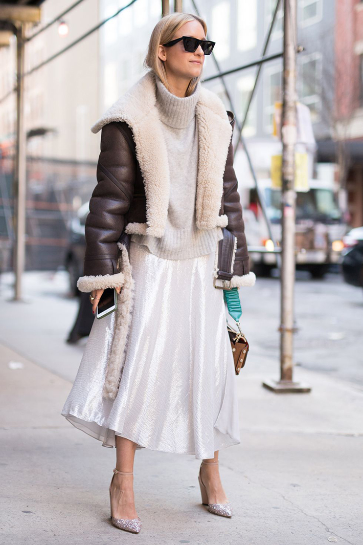 Best Street Style at New York Fashion Week Fall 2018 trend street style fashion outfit 201813