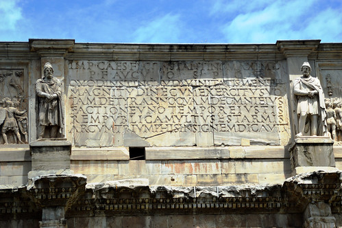 Arch of Constantine Detail 3