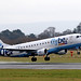 Flybe Embraer ERJ takes off from Manchester