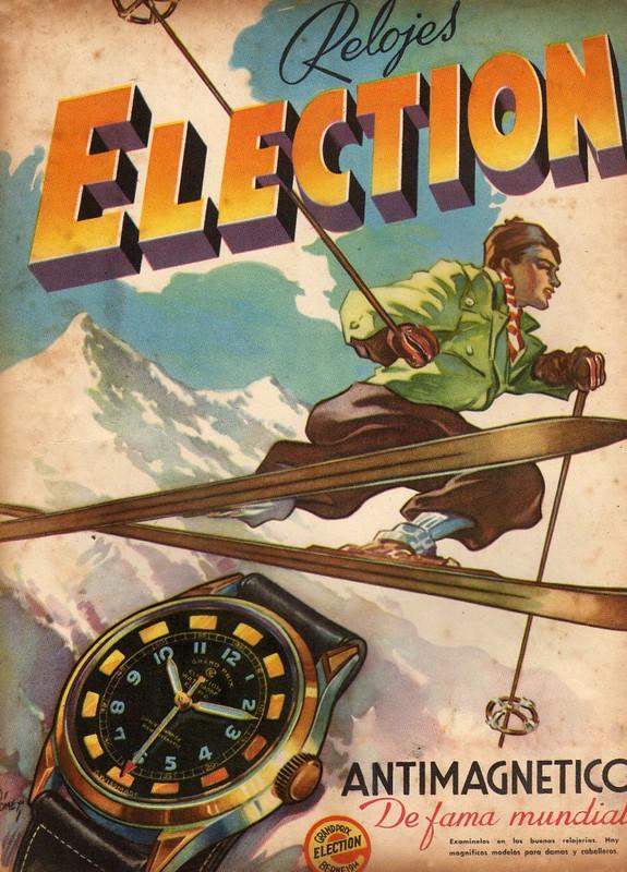 collection - Un autre chrono vintage arrive dans ma collection , l'Election oversize  40513348052_f3320fe7c3_c