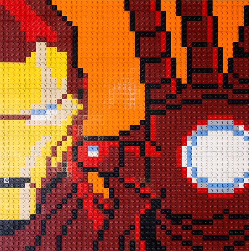 Iron Man Mosaic