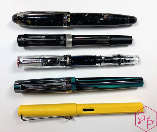 Review @TWSBI Eco Clear Fountain Pen - 1.1 mm stub @GouletPens @BrianGoulet_ 3