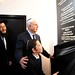 """Prime Minister of Israel posted a photo:Prime Minister Benjamin Netanyahu and his wife Sara, with Moshe Holtzberg at a memorial ceremony for the victims of the terrorist attack at the Chabad House in Mumbai.Photo: Avi  Ohayon, GPOראש הממשלה בנימין נתניהו ורעייתו שרה עם והילד מוישי הולצברג, בטקס לזכר קורבנות הפיגוע בבית חב""""ד במומבאי.צילום: אבי אוחיון, לע""""מ"""
