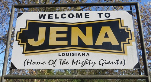 Welcome to Jena Sign (Jena, Louisiana)