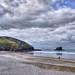 The coast at Portreath, Cornwall